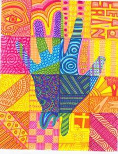 mrs tabitha seaton hot and cool hands ecole art elements of art
