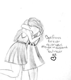 drawing of best friends drawings for friends cute best friend drawings drawings of