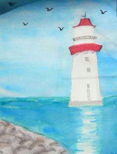 lighthouse art class ideas kids art class art for kids 7th grade art