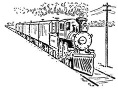drawing trains in one point perspective with easy step by step tutorial page 3 of 3