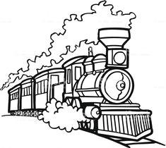 old choo choo train vector cartoon clipart stock vector art more