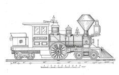 toy train blueprints google search