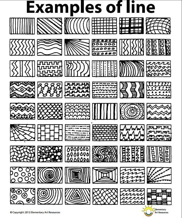 lesson one element of line year 5 2016