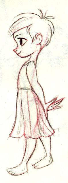 little girl by miss jazz dafunk on deviantart easy drawings cute people drawings
