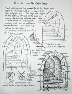 how to draw worksheets for the young artist how to draw stone stairs lesson and worksheet this is so wonderfully understandable for the young artist