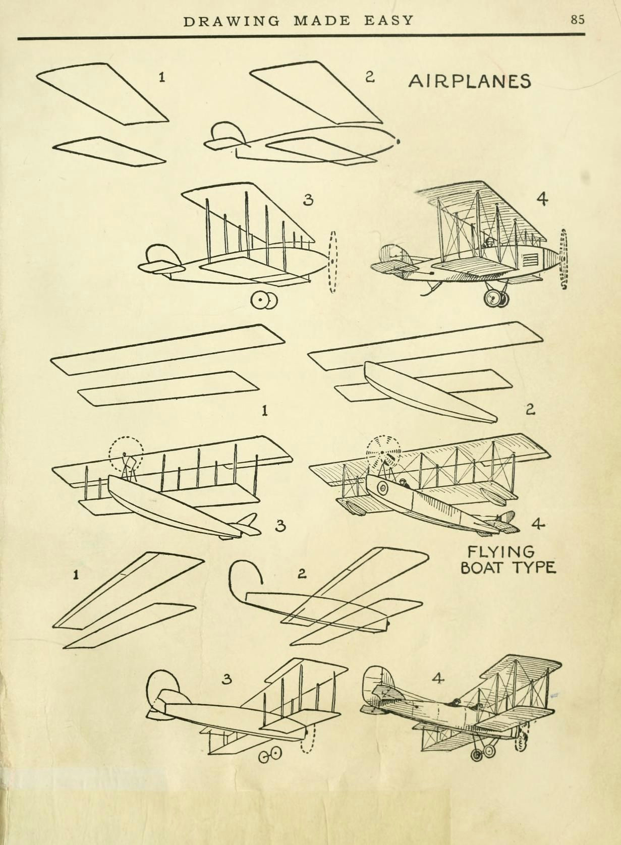 today s drawing class featuring lessons from the 1921 vintage book drawing made easy a helpful book for young artists by e lutz