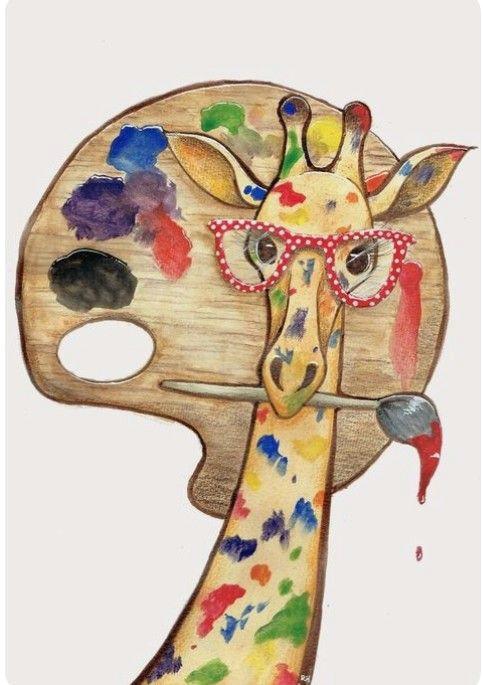 giraffe the artist