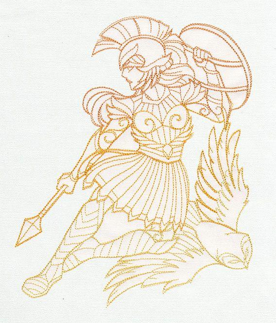 greek gods athena design ut9132 from urbanthreads com