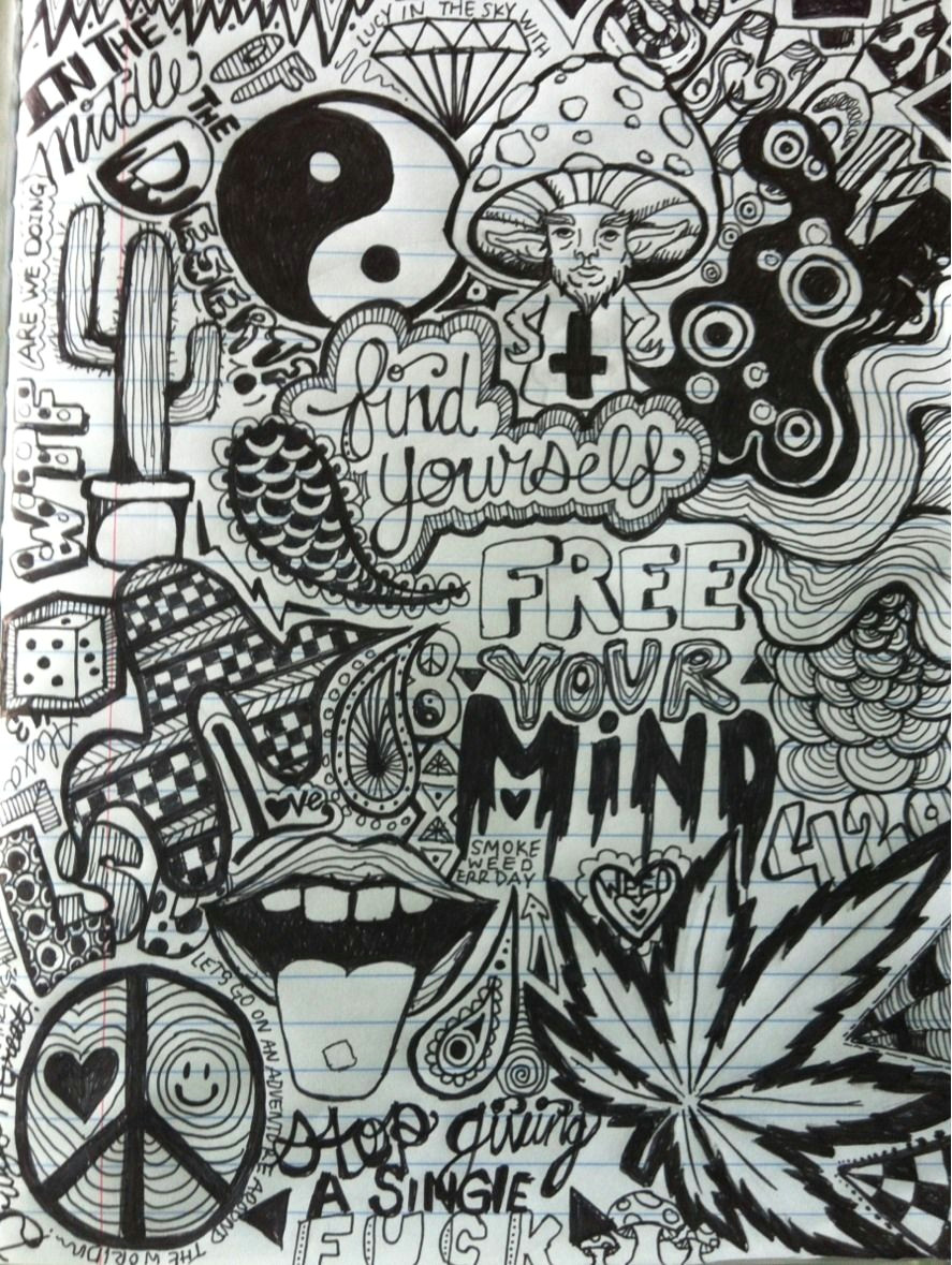 the first page to my drug experience journal cool drawings trippy drawings tumblr