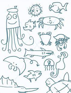 best artist in the ocean via christy sturdivant buitendorp kindergarten art projects art handouts