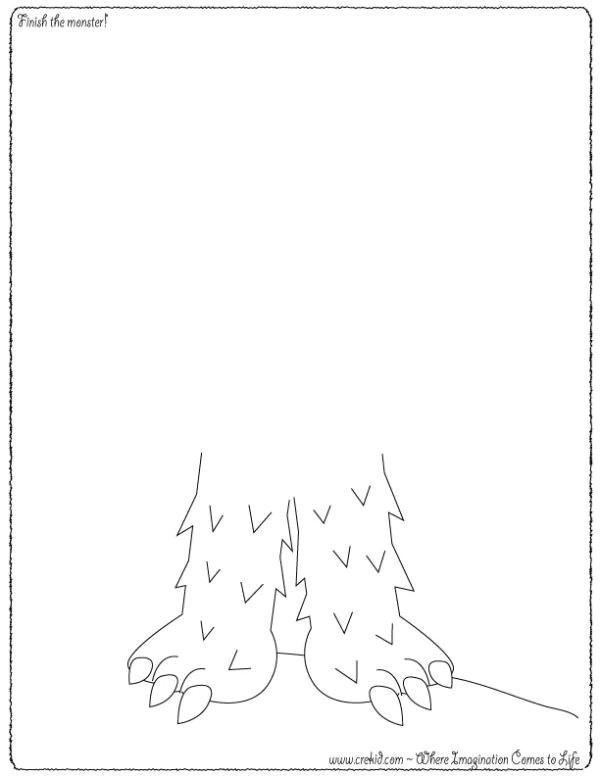 crekid com creative drawing printouts
