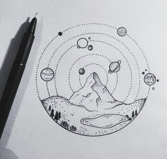 journey into the centre of the solar system an artist s sketch