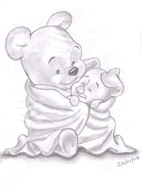 pencil drawings of disney characters landn83 albums my work and sketches