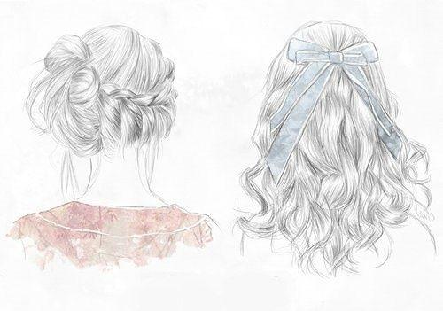 hair sketches drawing ideasdrawing