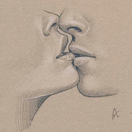 discover ideas about drawing people kissing