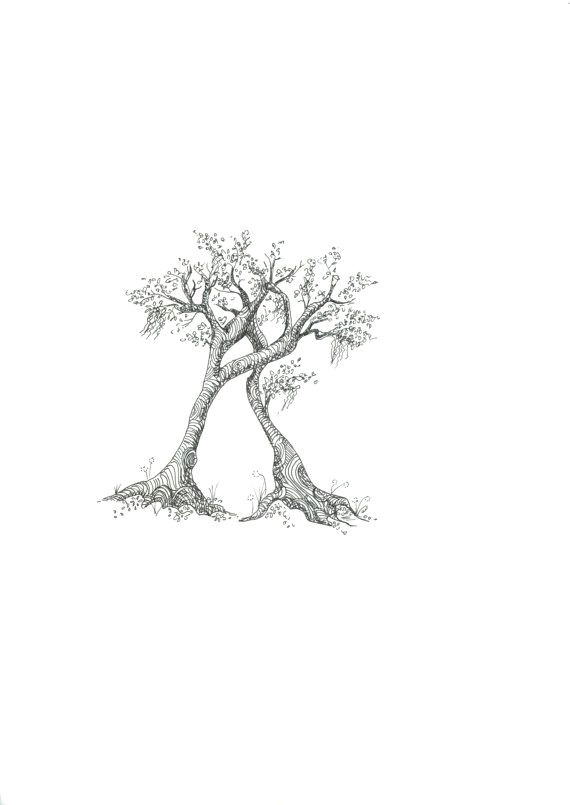 tattoo idea but three trees for me mom and sister