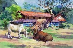 resultat de recherche d images pour tamil village life paintings clipart