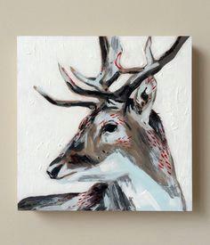 deer painting the spirit deer by moderncabinbyew on etsy deer paintings canvas paintings
