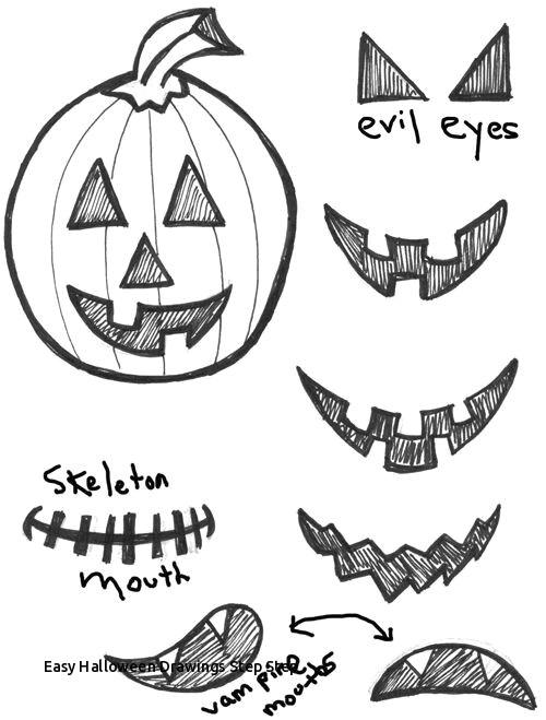 easy halloween drawings step step 492 0 best easy halloween diy ideas images on pinterest of