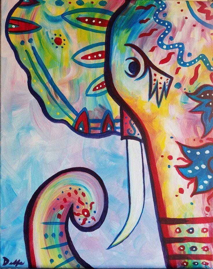 rainbow the boho elephant