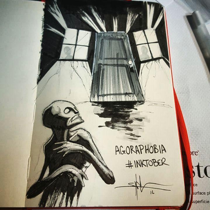creepy drawings dark drawings creepy art inktober amazing art croquis