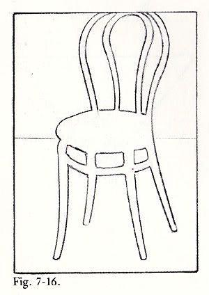 drawing of chair google sa gning