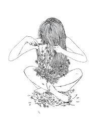 image result for sad tumblr drawings