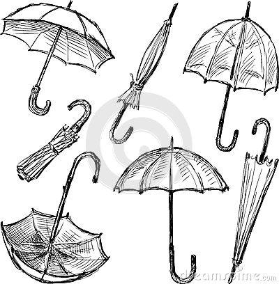 269e17162e4affbc923222987491fc9e umbrella sketch umbrella doodle jpg