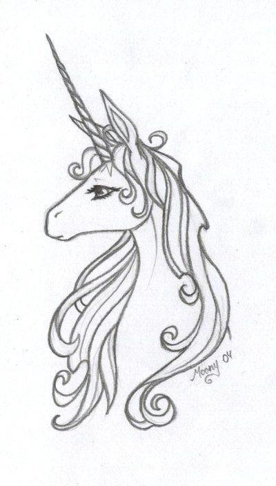 Drawing Ideas Unicorn the Last Unicorn when No Generic Unicorn Will Do 20 Year Tat In