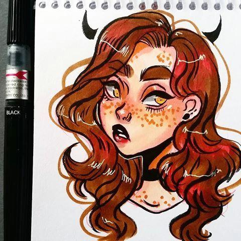 marker sketch doodle drawing sketchbook copic