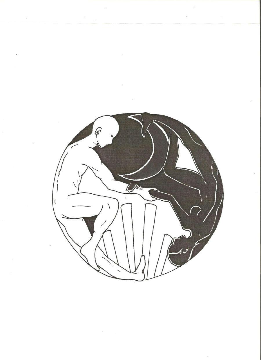geometric yin yang tattoo yin yang tattoos tattoo ideas tumblr body map
