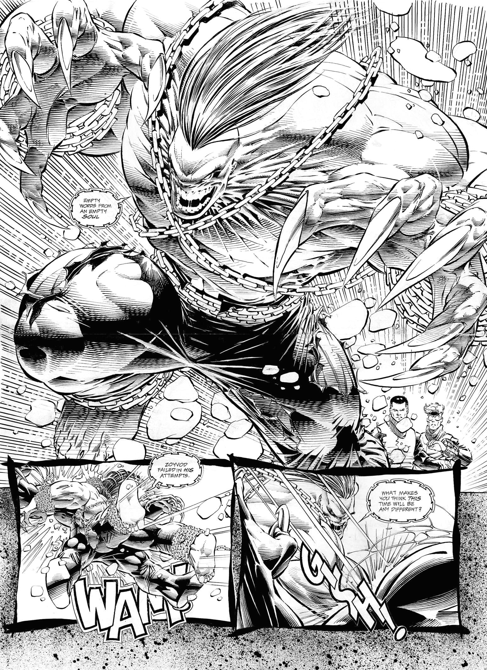 pitt by dale keown comic art comic books art book art ink
