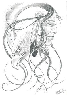 native american art american art and native american on pinterest eagle drawing indian drawing