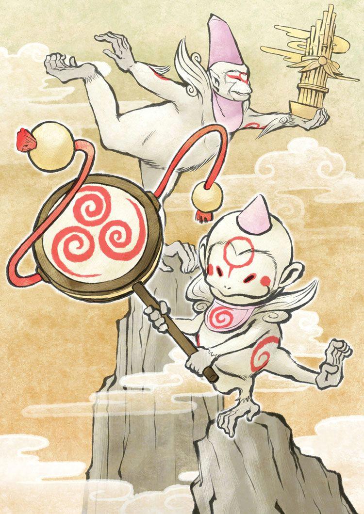 Drawing Japanese Cartoon Characters Sakigami Cool Art Anime Manga Games Manga
