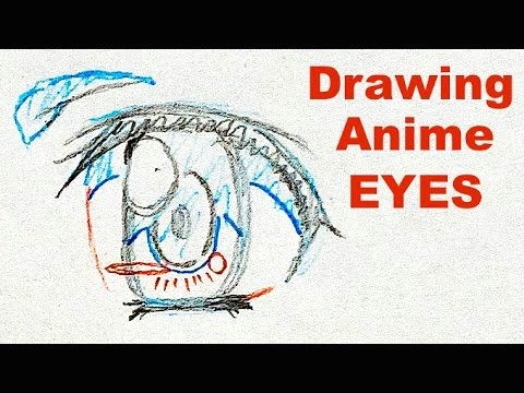 how to draw anime eyes by veteran animator hinoei japanese manga tutorial enable english subtitles