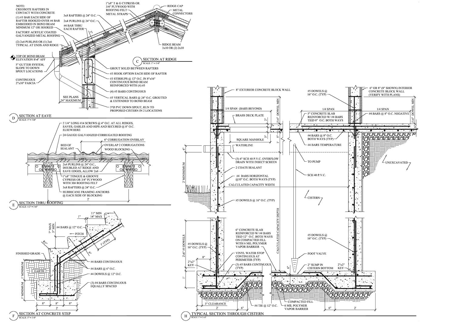 Drawing L Section Section Drawings Including Details Examples Wall Section Detail