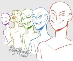 draw the squad tumblr art base draw your squad meme drawing base