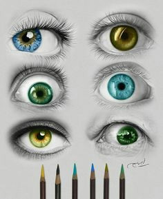eyes from all for art lovers pencil illustration eye art pencil drawings drawing eyes
