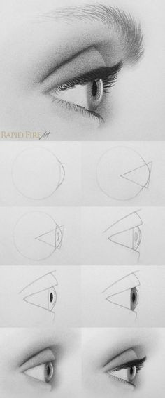start a fire how to draw eyeslearn