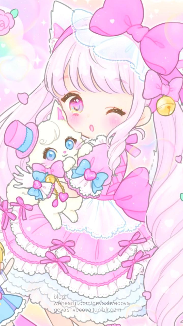 anime art baby baby doll baby girl background beautiful girl cartoon cute baby design drawing fashion illustration illustration girl kawaii