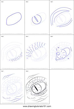 dragon is a legendary character step by step of dragon eye dragon eye drawing