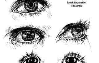 how to draw expressive eyes www drawing made easy com eyes drawing