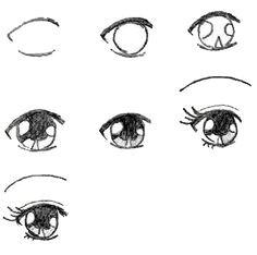 draw manga eyes easy manga drawingssuper easy drawingsanime eyes