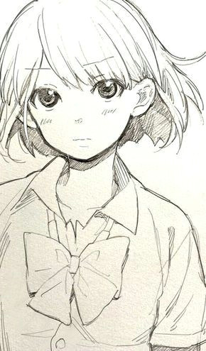 cute anime pencile sketch google search