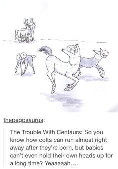 newborn centaurs