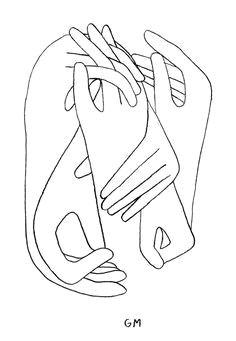 arte digitalline drawing