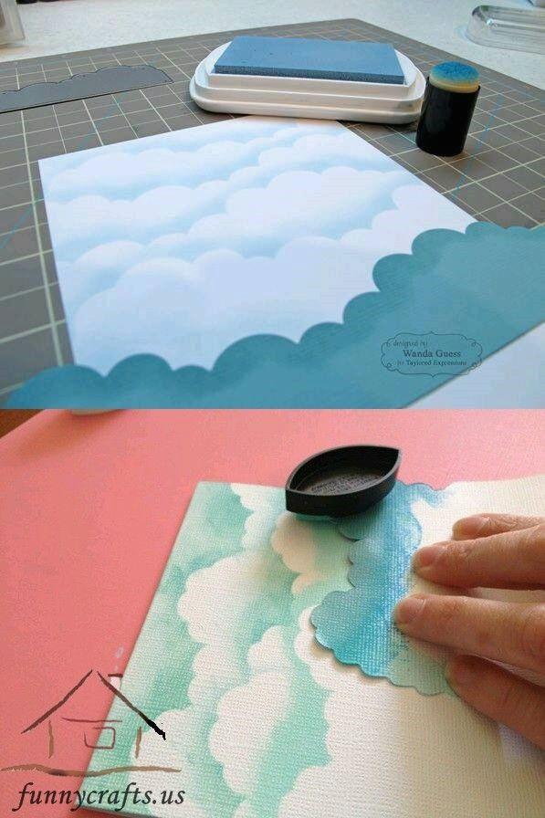 how to make a cloudy sky wonderful nessa drawing ideas kids