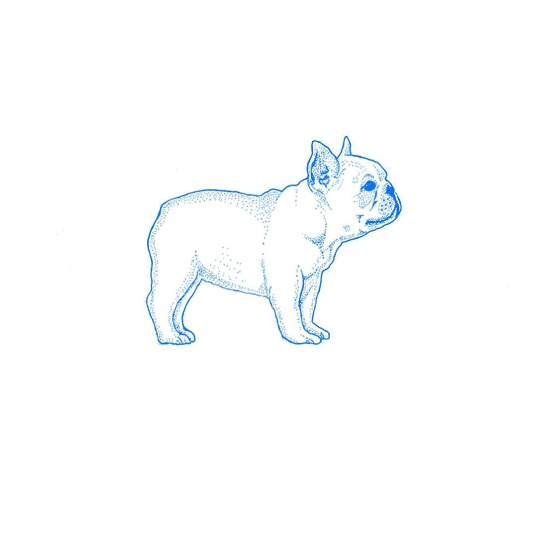 frenchie illustration to be printed on children s clothing 3d toyonic art