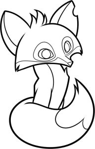 how to draw an animal jam fox step 8