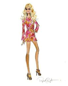 heidi klum barbie sketch by robert best